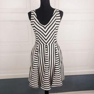 Saturday Sunday Anthro Striped w/ Pockets Dress